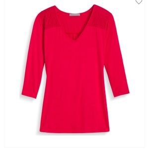 Loveappella red top from Stitch Fix, XL